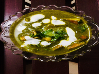 Palak Paneer-by-Rasoirecipes