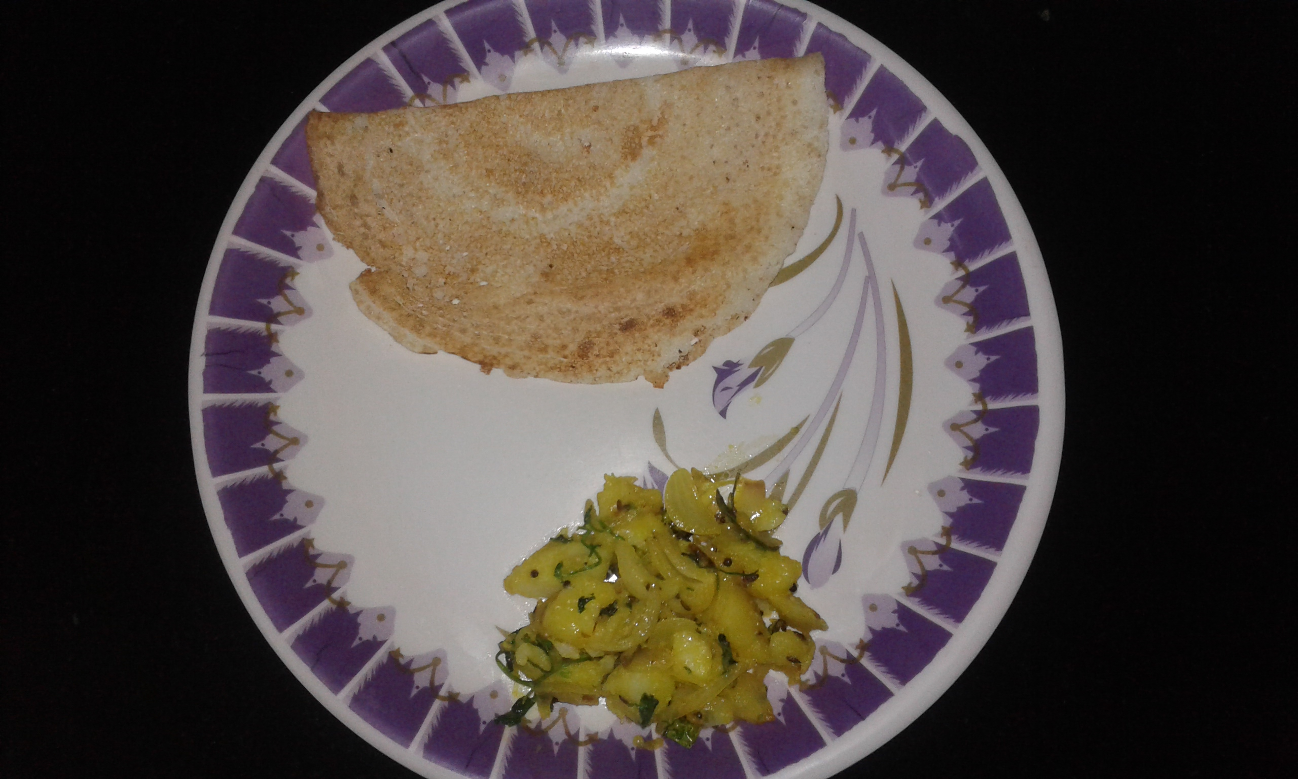 Aloo Sabji for Dosa-by-Rasoirecipes