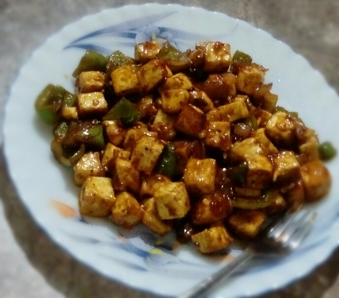 Rasoi_Recipes_Dry Paneer Chilly